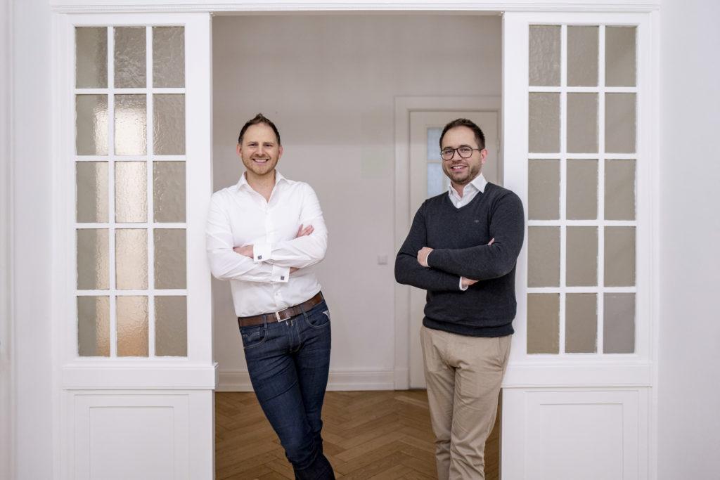 Nitrobox Geschäftsführung / Henner Heistermann (CEO) und Sven Grimminger (CTO)