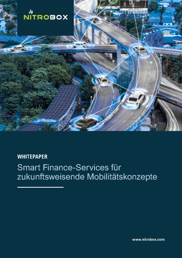 Whitepaper - Smart finance services for future-oriented mobility concepts